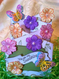 Cascading card, Fun Stampers Journey