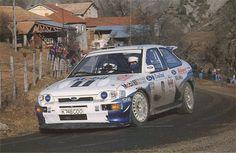 ra Francois Delecour - Daniel Grataloup-Ford Escort RS Cosworth Gr.A-Ford Motor Company-Rally Monte Carlo 1993