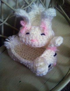 Sweet little bunny slippers
