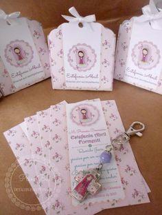 Souvenir Comunion Virgencita Porfis Llavero/caja/estampita - $ 520,00 en Mercado Libre
