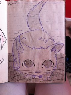My art draw cat