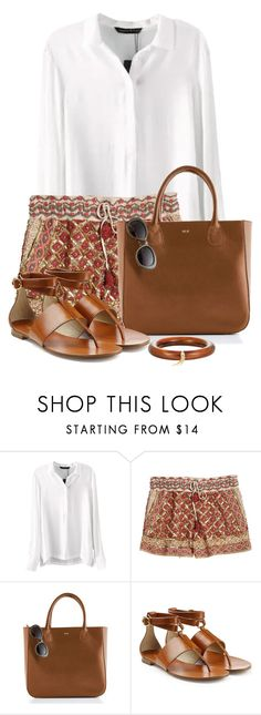 """""""Casual and Comfortable"""" by terry-tlc ❤ liked on Polyvore featuring Calypso St. Barth, Michael Kors and Mark Davis"""