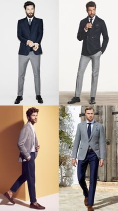 men's grey jacket with navy trousers - separates outfit inspiration http://www.99wtf.net/young-style/urban-style/what-is-urban-fashion/