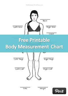 Pin Weight Loss Chart Template on Pinterest | TLC | Pinterest ...