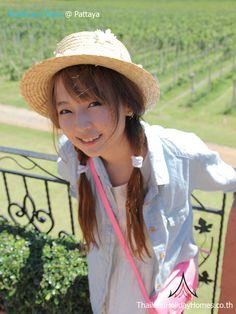Emmy Sunandha Deva - Thailand Most Popular Net Idol, Celebrity, Pretty @ Thailand Holiday Homes Villa - Pattaya