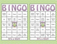 60 Baby Shower Bingo Cards  DIY Printable by CelebrateLifeCrafts, $6.00