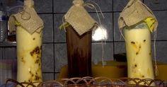 Aprenda a fazer licor trufado de maracujá com chocolate; veja vídeo Chutney, Candle Sconces, Wall Lights, Food And Drink, Candles, Diet, Healthy Recipes, Homemade Liquor, Liquor