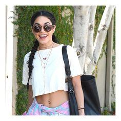 Vanessa Hudgens wearing Mike 0,4 (Woodys  Barcelona sunglasses )