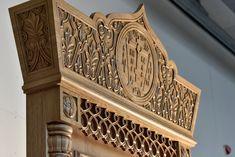 Киот в стиле Русского Севера Acanthus, Lion Sculpture, Statue, Art, Art Background, Kunst, Performing Arts, Sculptures, Sculpture