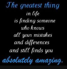 yep -I am SO lucky &blessed to have my hubby love &adore me so much! Even when I'm crazy &emotional, he adores me!