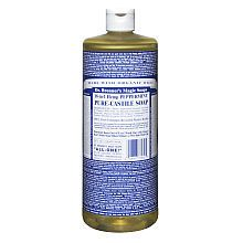 Dr Bronners Peppermint Castille Soap....YUMMY smelling