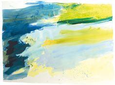 Ana Sério Reflexo (turvo) da Luz #7, 2015, 105x140cm #Artist #AnaSério #Colorful #Paintings #Oil on #Paper at #SaoMamede #Art #Gallery in #Algarve #Portugal