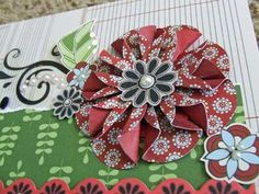 57 Best Flower Tutorials Scrapbooking Images Cloth Flowers