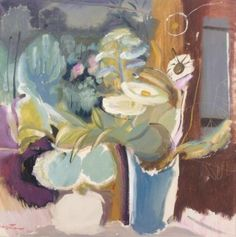 View Flowers before a window by Ivon Hitchens on artnet. Browse upcoming and past auction lots by Ivon Hitchens. Abstract Flowers, Watercolor Flowers, Abstract Art, Art Floral, Still Life Art, Abstract Expressionism, Painting Inspiration, Art Images, Flower Art