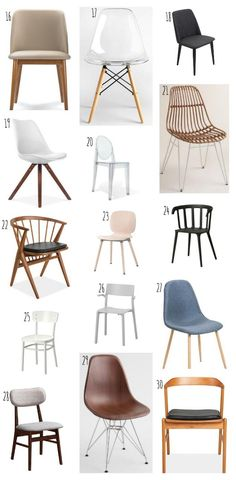 Modern dining chairs under $100