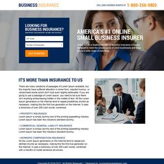 minimal business insurance responsive landing page #business #BusinessOwner #BusinessMan #businessinsurance #insurance #Insurancequotes #insurancepolicy