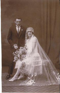 Wedding of Arthur and Dulcie Hill by LJMcK, via Flickr