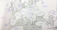 Polska leży w Niemczech i ma kolonie. Czyli Amerykanie rysują Europę