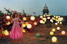 Vogue UK - July 2005 editorial: Lily Takes a Trip model: Lily Cole photographer: Tim Walker Shot on location in India at the abandoned Juna Lily Cole, Timothy Walker, Tim Walker Photography, She's A Lady, Cecil Beaton, Winter's Tale, Mode Inspiration, Wedding Inspiration, Fashion Photography
