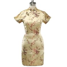 Short Sleeves, Short Sleeve Dresses, Line Patterns, Cheongsam, Mandarin Collar, Traditional Dresses, Collars, Chinese, Style Inspiration