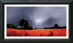 Umber Landscape by artist Barry Hilton available to order from www.hepplestonefineart.com