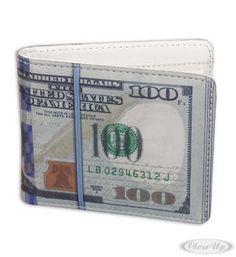 Dollarschein Geldbeutel neues Design Hier bei www.closeup.de
