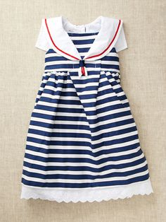 Pippa and Julie Nautical Dress