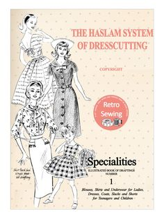 The Haslam System of Dressmaking Specialities No.1  PDF