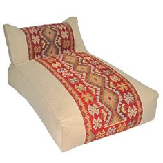 I pinned this Kilim Lounge Bean Bag from the Loominary event at Joss and Main!