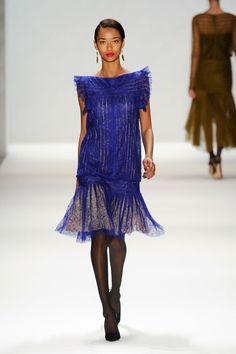 Anais Mali | Tadashi Shoji F/W 2012 New York