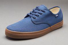 cb057e064b82 Vans Madero Men Dark Denim Gum ALL SIZES BLUE Canvas