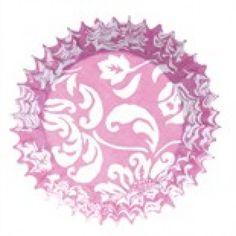 1 x Pack of 50 Baking / Cupcake Cases . Pink Elegance