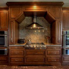 Dream kitchen-  Unique hood enclosure