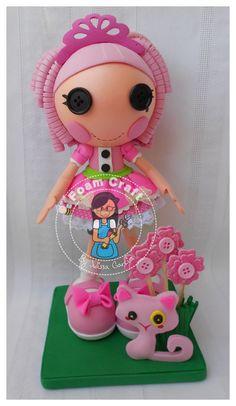 jewel sparkle lalaloopsy foam doll by julissagarcia2 on Etsy, $19.95