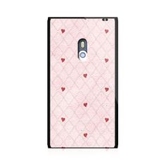 Hearts In Mesh Red Nokia Lumia 800 Case