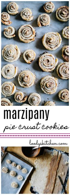 marzipany pie crust cookies