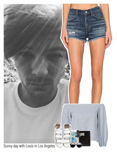 """""""Sunny day with Louis in Los Angeles"""" by sixsensestyles ❤ liked on Polyvore featuring A Gold E, Givenchy and NARS Cosmetics"""