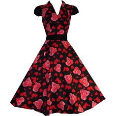 Stunning Floral Heart Print On A Sumptuous Stretchy Cotton Fabric Make This A Must For Your Collection!! A Truly Unique Style Puff Cap Sleeves Side Zip Fastening With Fixed Black Waistband Perfect for Cocktail Parties, Balls, Themed Parties etc Please note photo taken with additional petticoat – Available from our website Sized Small – Please […]