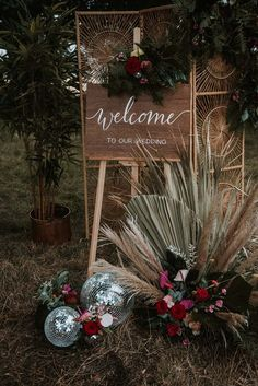 Wooden Wedding Sign with Disco Ball Decor for Festival Weddings | By Chloe Ellis Photography | Festival Wedding | Neon Wedding Decor | Disco Ball Wedding Decor | Bridal Crown | Sequin Wedding Dress | Outdoor Wedding | Blush Wedding Decor | Wedding Sign | Wedding Decor Outdoor Wedding Dress, Diy Wedding, Wedding Blush, Sequin Wedding, Dream Wedding, Wooden Wedding Signs, Wedding Signage, Festival Themed Wedding, Quirky Decor
