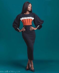 Ankara Clothing, African Print Clothing, Classy Work Outfits, Classy Dress, African Wear, African Attire, Unisex Clothes, Clothes For Women, Work Fashion