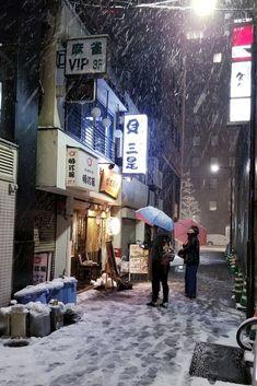 Snow in Tokyo    The Kimono Gallery