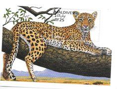 Maldives - Leopard, 1996 - Sc 2188 S/S MNH