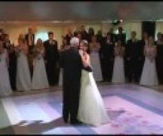 A Funny Wedding Dance, Father and Daughter