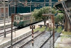 TrainScape: Diorama basado en Vadollano. 51 Diorama, Model Train, Dioramas