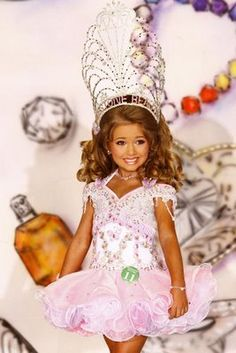 Toddlers and Tiaras... too creepy?