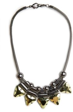MANGO Outlet Metal Pieces Necklace on shopstyle.com