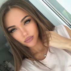 170 sеxу light brown hair color ideas page 19 Makeup Goals, Beauty Makeup, Hair Makeup, Hair Beauty, Brown Lipstick Makeup, Makeup Eyebrows, Eye Brows, Nude Lipstick, Brunette Beauty