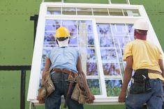 Two hispanic carpenters lifting a window for installation. Hispanic carpenters l , Best Windows, House Windows, Best Replacement Windows, Window Quotes, Open Floor Concept, Window Manufacturers, Andersen Windows, Interior Windows, Engineered Wood Floors