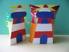 kids crafts treats beach summer nautic
