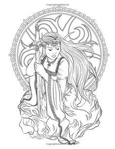 Gothic - Dark Fantasy Coloring Book: Volume 6 Fantasy Art Coloring by Selina: Amazon.co.uk: Selina Fenech: Books